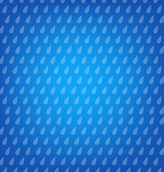 Blue Background With Drops vector image vector image