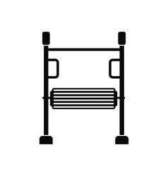 Children play simulator icon vector image vector image