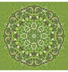 Flower Mandala Abstract element for design vector image vector image