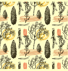 seamless pattern with vector image