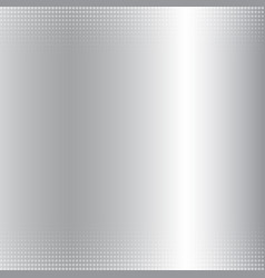 Abstract silver gradient metallic background and vector