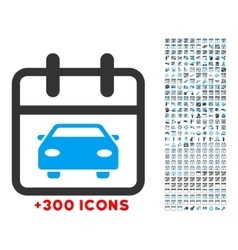 Car Date Icon vector
