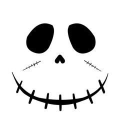Cartoon zombie face vector