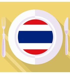 kitchen of Thailand vector image