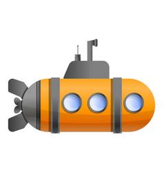 periscope submarine icon cartoon style vector image