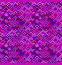 Purple geometric diagonal shape tile mosaic vector