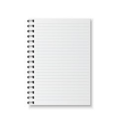 Realistic notebook vector image