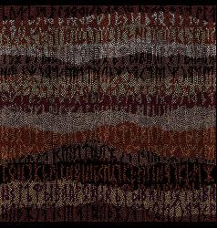 Seamless mosaic art pattern seamless image vector