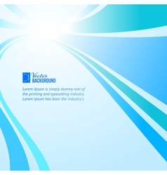 Straight lines abstract vector image vector image