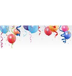 Birthday and celebration banner vector