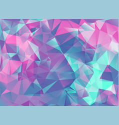 Abstract modern background with triangles in vector