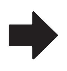arrow icon eps10 vector image
