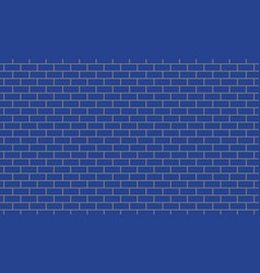 Blue tiles wall background vector