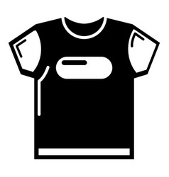 child t shirt icon simple black style vector image