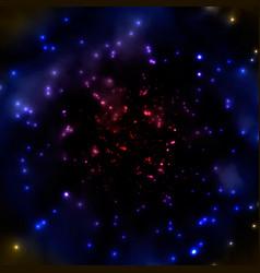 Dark hazy universe vector