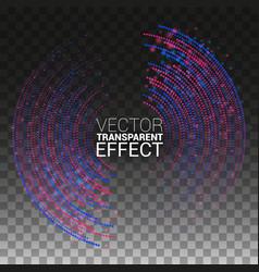 design elements sound wave music vector image