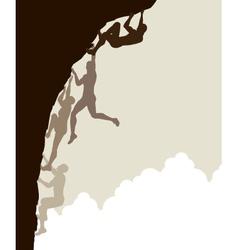 Free climb vector