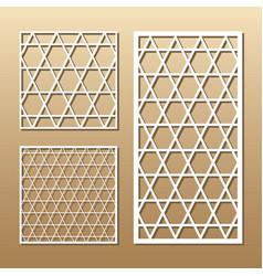 Laser cut panel vector