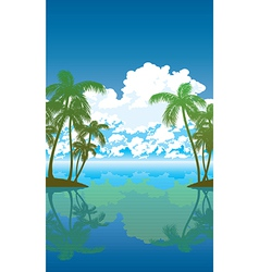 Palms 01 vector