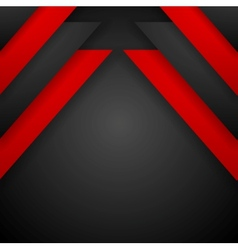 Red and black corporate background vector