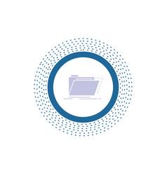 Archive catalog directory files folder glyph icon vector