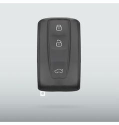 Car key isolated on white background vector