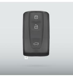 car key isolated on white background vector image