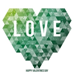 Heart Valentines day vector