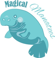 Magical Manatees vector