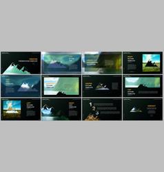 Presentations design templates background vector