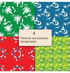 sailor pattern vector image