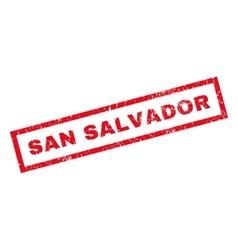San Salvador Rubber Stamp vector