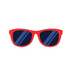 sunglasses icon flat design vector image