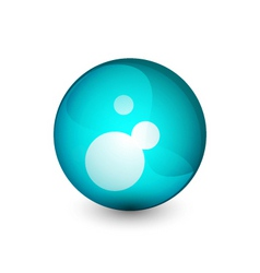 abstract orb vector image
