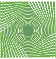Green abstract decorative background tile with vector image vector image