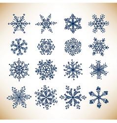 snowballs vector image