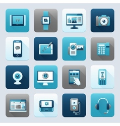 Internet and Mobile Device vector image