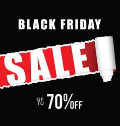 black friday icon sale vector image