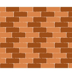 Brick wall seamless background - texture pat vector