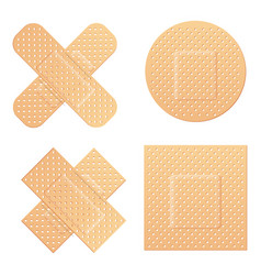Creative of adhesive bandage vector