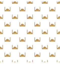 Mosque pattern seamless vector