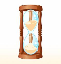 sand-glass vector image vector image