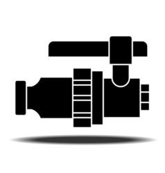 Sanitaryware tap icon vector image