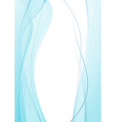 Satin blue flame - abstract background vector