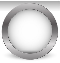 Shaded empty circle with transparent inner part vector
