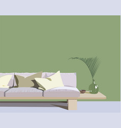 sketch interior design vector image