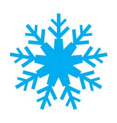 snowflake 02 vector image