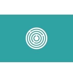 Target logo Round logo Planet logo Circle logo vector