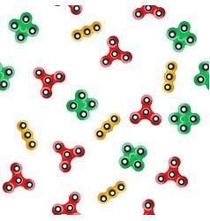 spinner seamless pattern vector image