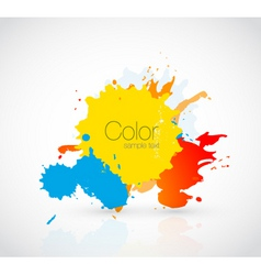 ink droplet vector image vector image